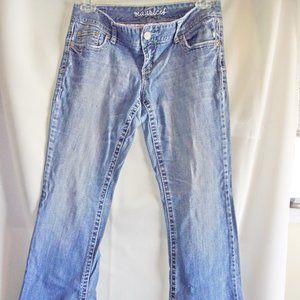 Maurices 7/8 Reg Jean Distressed
